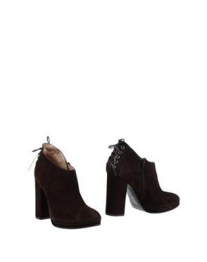 Ботинки ELIANA BUCCI. Цвет: темно-коричневый
