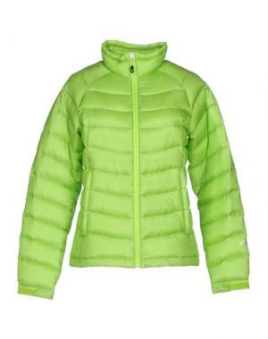 Пуховик PHENIX. Цвет: кислотно-зеленый