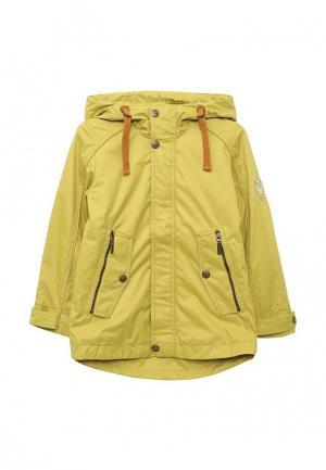 Куртка утепленная Alpex. Цвет: желтый