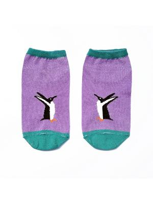 Носки укороченные Big Bang Socks. Цвет: сиреневый