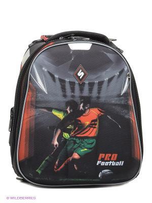 Рюкзак STERNBAUER. Цвет: черный, красный, серый