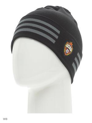 Шапка CSKA 3S WOOLIE Adidas. Цвет: черный