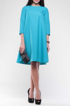 Платье Laura Bettini. Цвет: бирюзовый