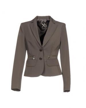 Пиджак X'S MILANO. Цвет: свинцово-серый