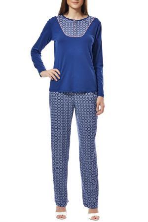 Пижама с брюками Relax Mode. Цвет: этнический
