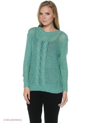 Джемпер Milana Style. Цвет: зеленый