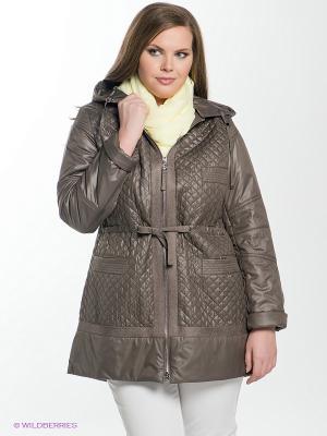 Пальто Sinta Via. Цвет: коричневый