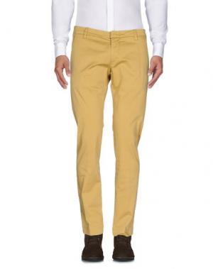 Повседневные брюки MICHAEL COAL. Цвет: охра