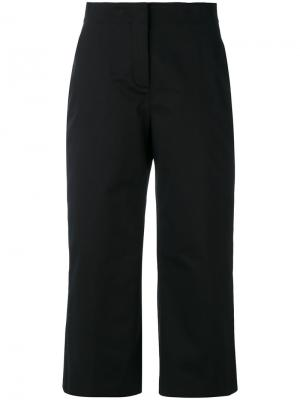 Укороченные брюки Versace. Цвет: чёрный