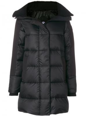 Дутое пальто Altona Canada Goose. Цвет: чёрный