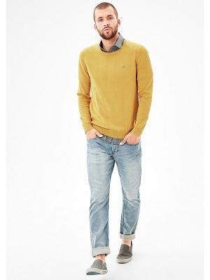 Джемпер S.OLIVER. Цвет: желтый