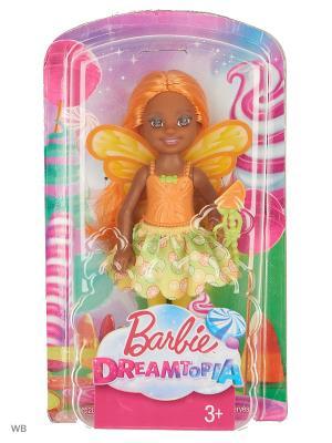 Маленькие феи-челси в ассортименте Barbie. Цвет: салатовый, светло-оранжевый