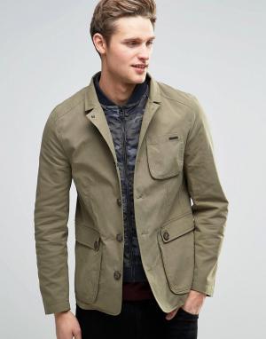 Parka London Куртка Arthur. Цвет: зеленый