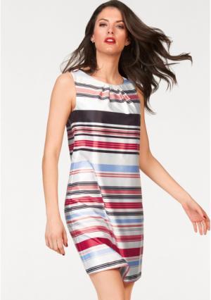 Платье-футляр VIVANCE. Цвет: белый/черный/красный/абрикосовый/светло-синий