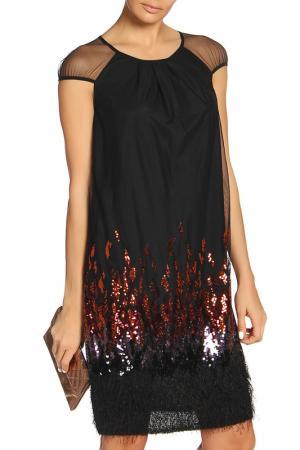 Платье Caterina Leman. Цвет: 0933 черный, медный