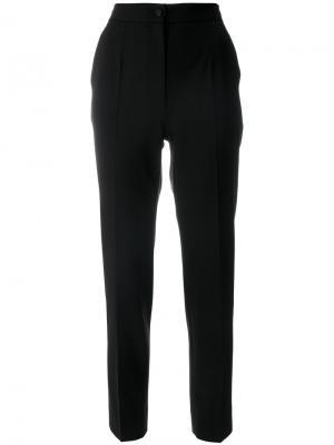 Прямые брюки Dolce & Gabbana. Цвет: чёрный