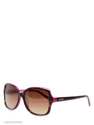 Солнцезащитные очки Polaroid. Цвет: черный, малиновый