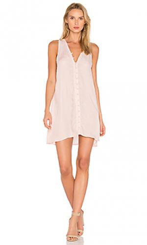 Платье dylan YFB CLOTHING. Цвет: розовый