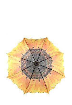 Зонт-трость Kawaii Factory. Цвет: желтый