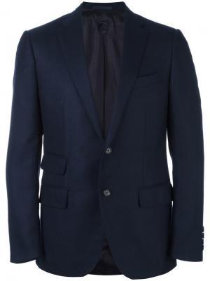 Блейзер с карманами Caruso. Цвет: синий
