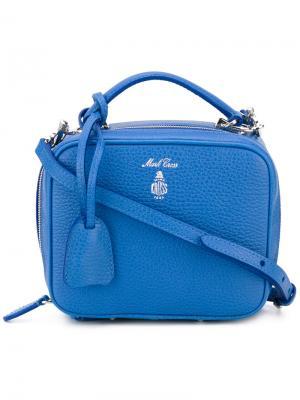 Мини сумка на плечо Laura Mark Cross. Цвет: синий