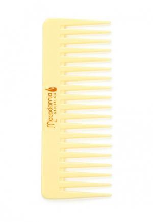 Гребень Macadamia Natural Oil. Цвет: желтый