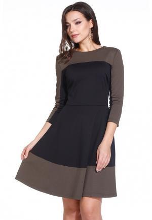 Платье Gloss. Цвет: хаки