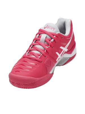 Спортивная обувь GEL-CHALLENGER 11 CLAY ASICS. Цвет: серый, розовый