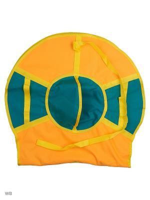 Санки надувные Ватрушка Метиз. Цвет: желтый