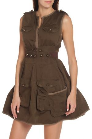 Платье DSquared2. Цвет: 143