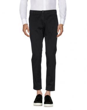 Повседневные брюки DERRIÉRE. Цвет: черный
