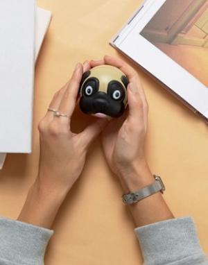 50FIFTY Мячик для снятия стресса в виде головы мопса. Цвет: мульти