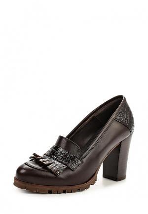 Туфли Natalia Blanco. Цвет: коричневый