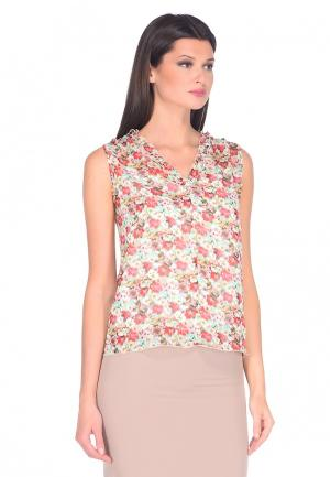 Блуза IMAGO. Цвет: разноцветный