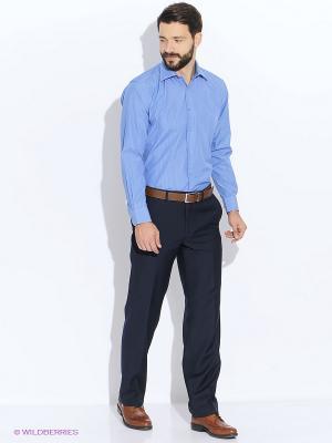 Рубашка LIVANSO. Цвет: синий