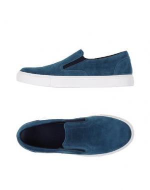 Низкие кеды и кроссовки FABIANO RICCI. Цвет: грифельно-синий