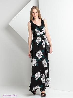 Платье ZARINA. Цвет: черный, зеленый, белый