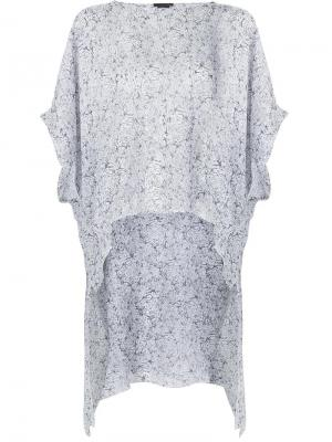 Блузка Instant Thomas Wylde. Цвет: белый