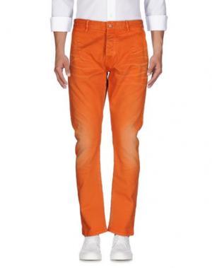 Джинсовые брюки SCOTCH & SODA. Цвет: оранжевый