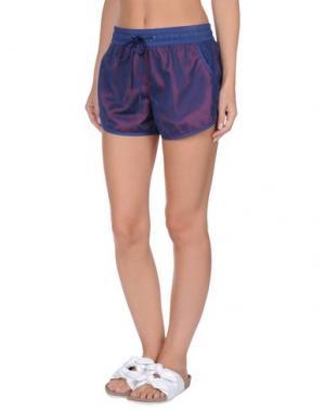 Пляжные брюки и шорты SUNDEK. Цвет: темно-синий