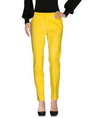 Повседневные брюки MASON'S. Цвет: желтый