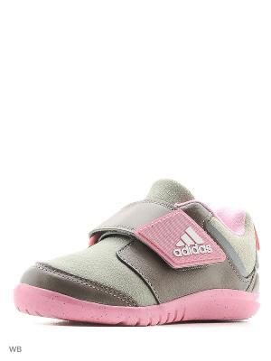 Кроссовки дет. спорт. FortaPlay AC I Adidas. Цвет: розовый
