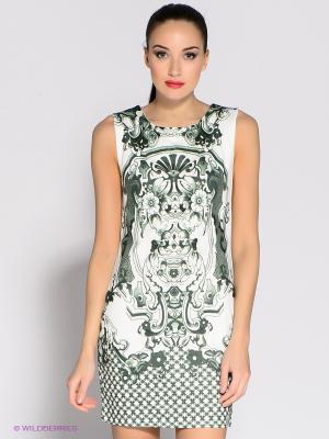 Платье Eunishop. Цвет: зеленый