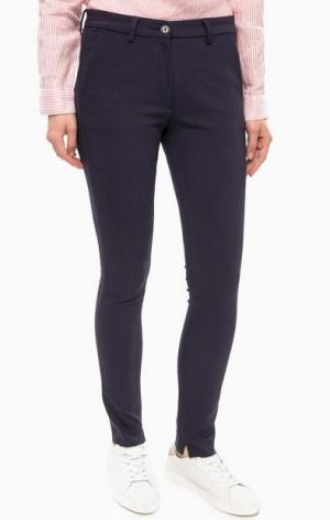 Зауженные брюки Lacoste. Цвет: фиолетовый