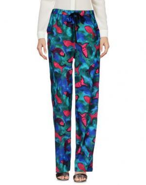 Повседневные брюки AGLINI. Цвет: темно-зеленый