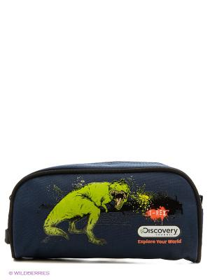 Пенал Discovery T-Rex Action!. Цвет: темно-синий