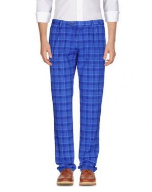 Повседневные брюки REVERES 1949. Цвет: синий