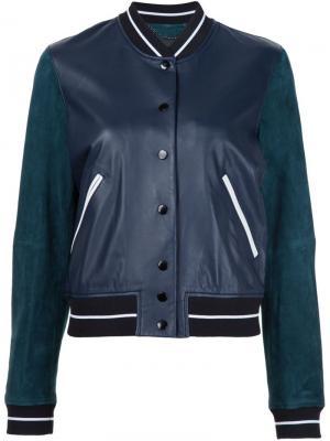 Куртка-бомбер Alix Rag & Bone. Цвет: синий