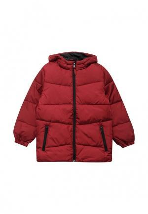 Куртка утепленная Modis. Цвет: бордовый