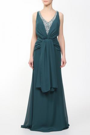 Платье Clips. Цвет: зеленый
